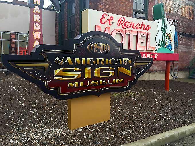 American Sign Museum-Cincinncati