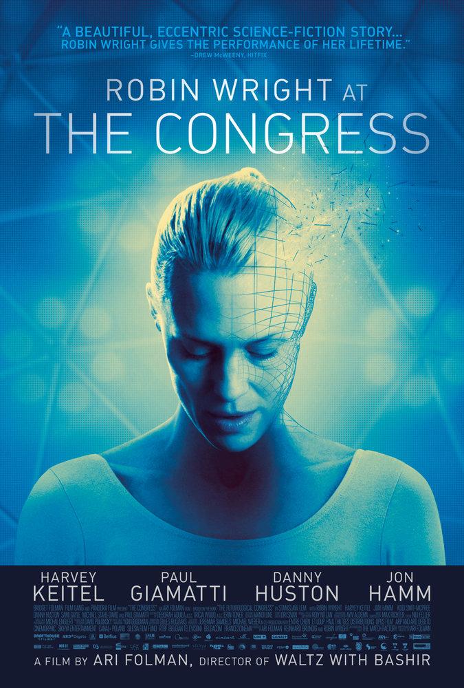 "Robin Wright stars in Ari Folman's ""The Congress"""