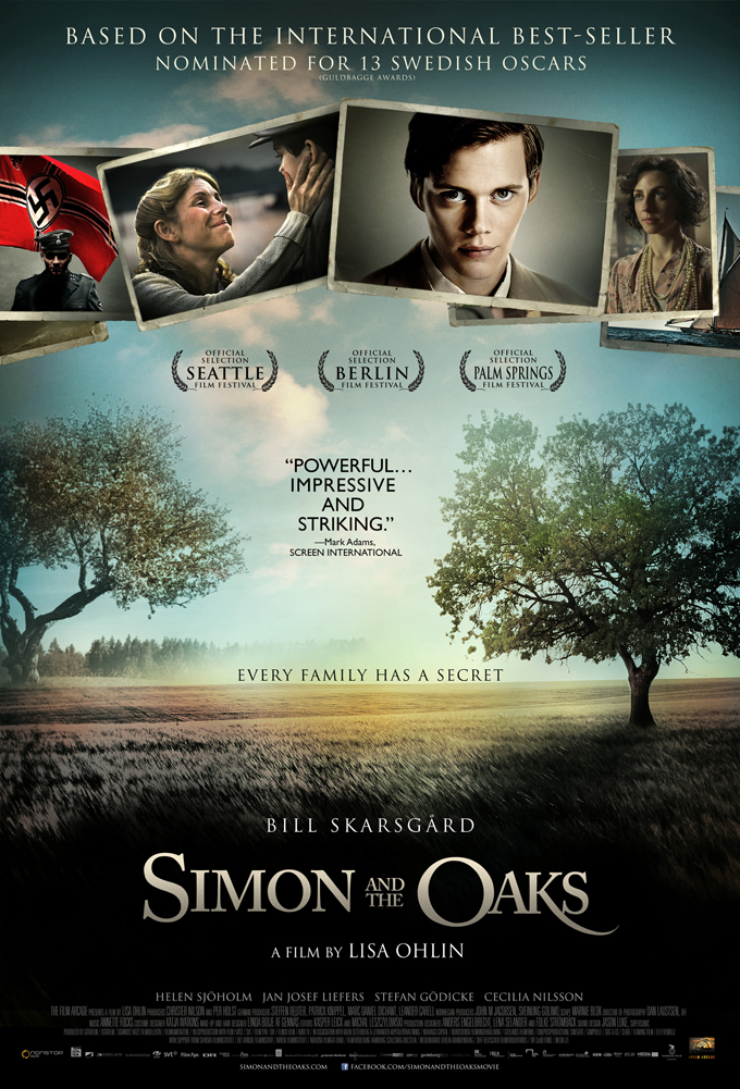Simon and the Oaks poster