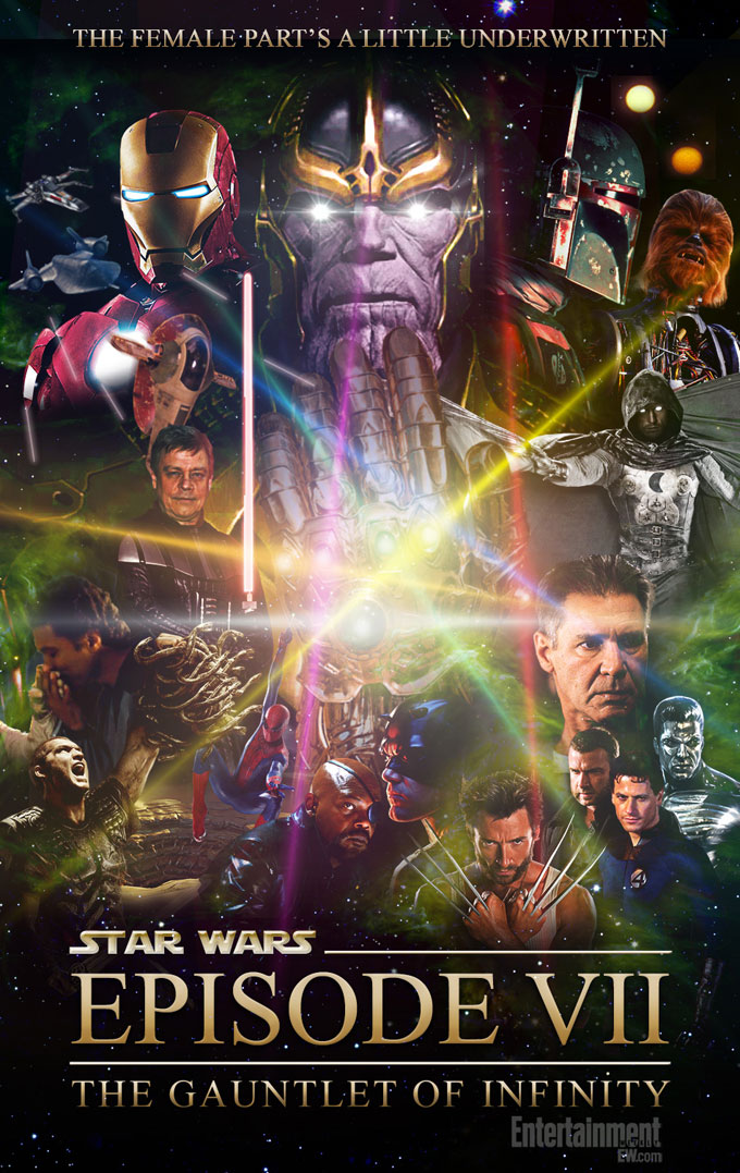 Star Wars VII: The Gauntlet Of Infinity Poster