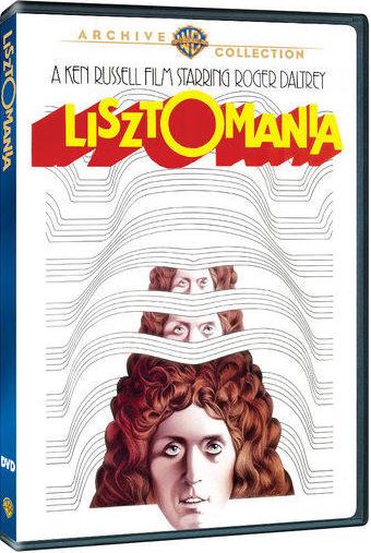 Lisztomania DVD cover