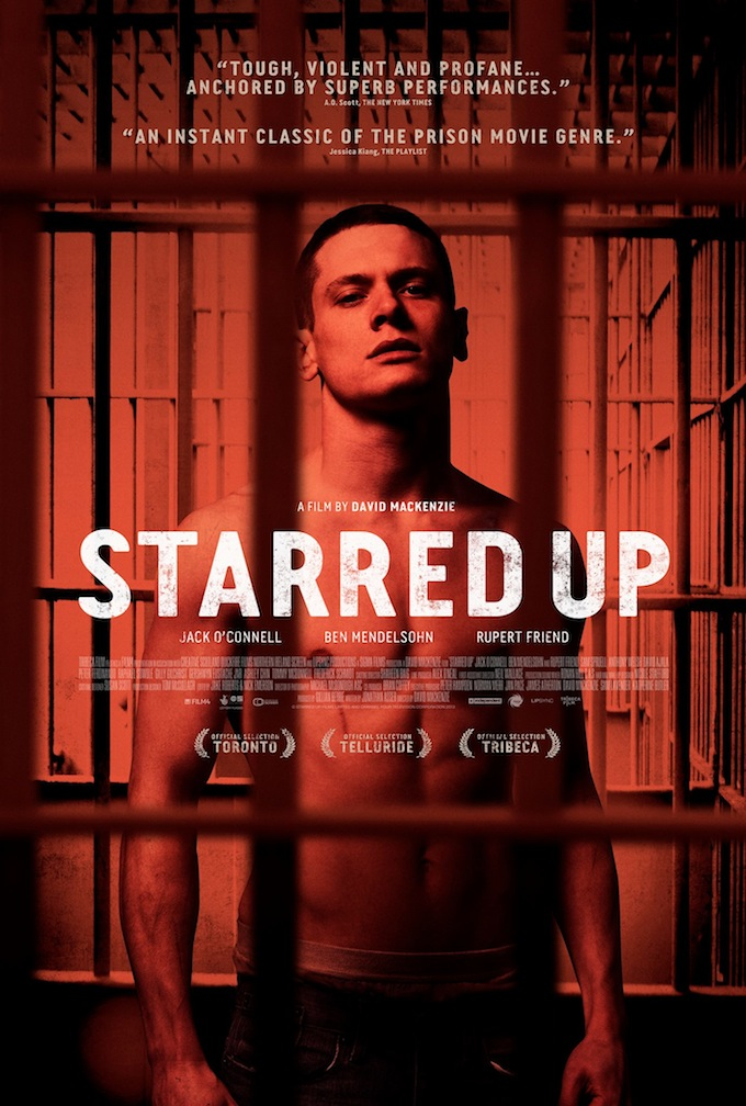 Starred Up, poster