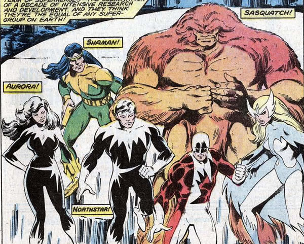 Alpha Flight: Fighting evil, Canadian-style