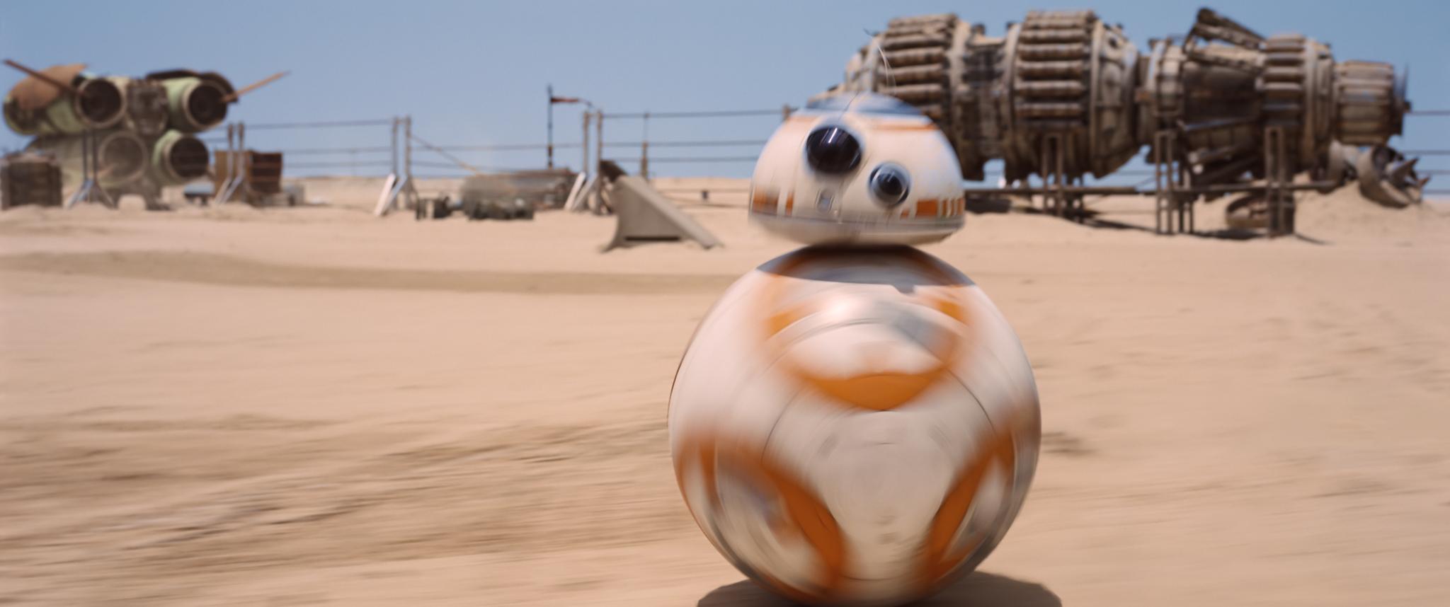 "BB-8, ""Star Wars: The Force Awakens"""