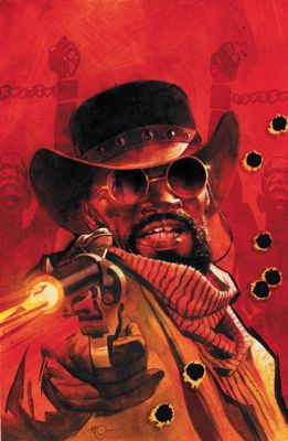 """Django Unchained"" issue #3, cover by Massimo Carnavale"