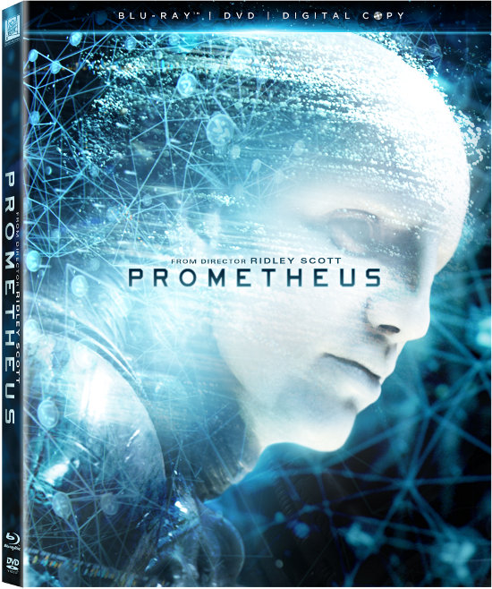 Prometheus BluRay Artwork