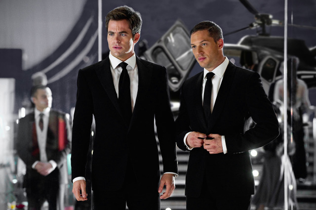 This Means War Tom Hardy Chris Pine
