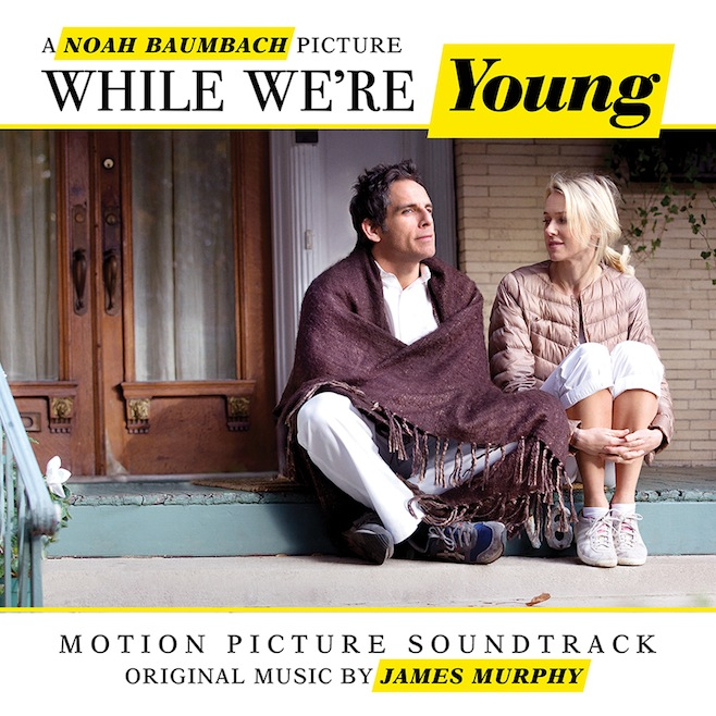 While we're young, soundtrack art