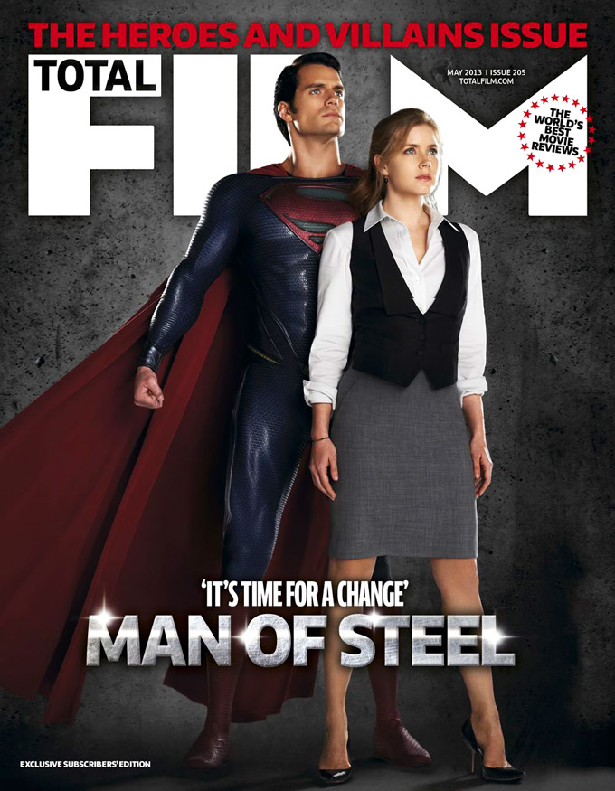 Amy Adams, Henry Cavill, Man Of Steel, Total Film (skip)