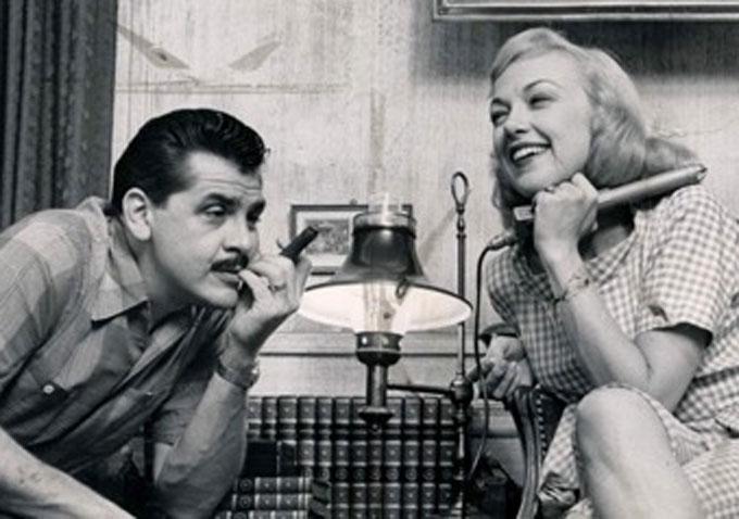 Ernie Kovacs and Edie Adams