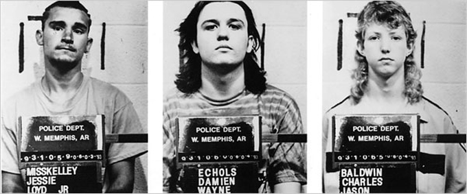 West Memphis Three, mugshots