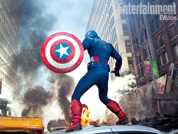 The Avengers Captain America skip crop