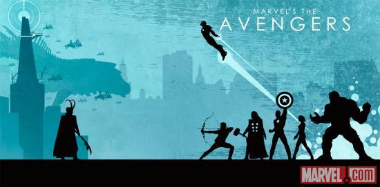 Marvel The Avengers Phase One Art