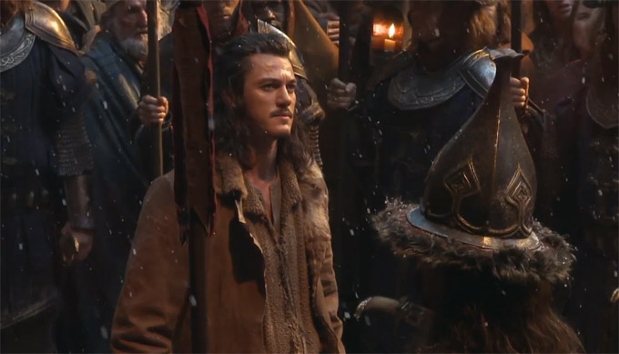 Luke Evans, The Desolation Of Smaug (skip), Behind The Scenes