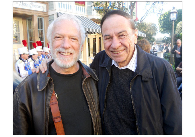 Poster artist extraordinaire Drew Struzan and Richard Sherman were there to cheer for Tony