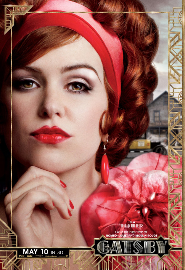 Gatsby Character poster, Isla Fisher (skip)
