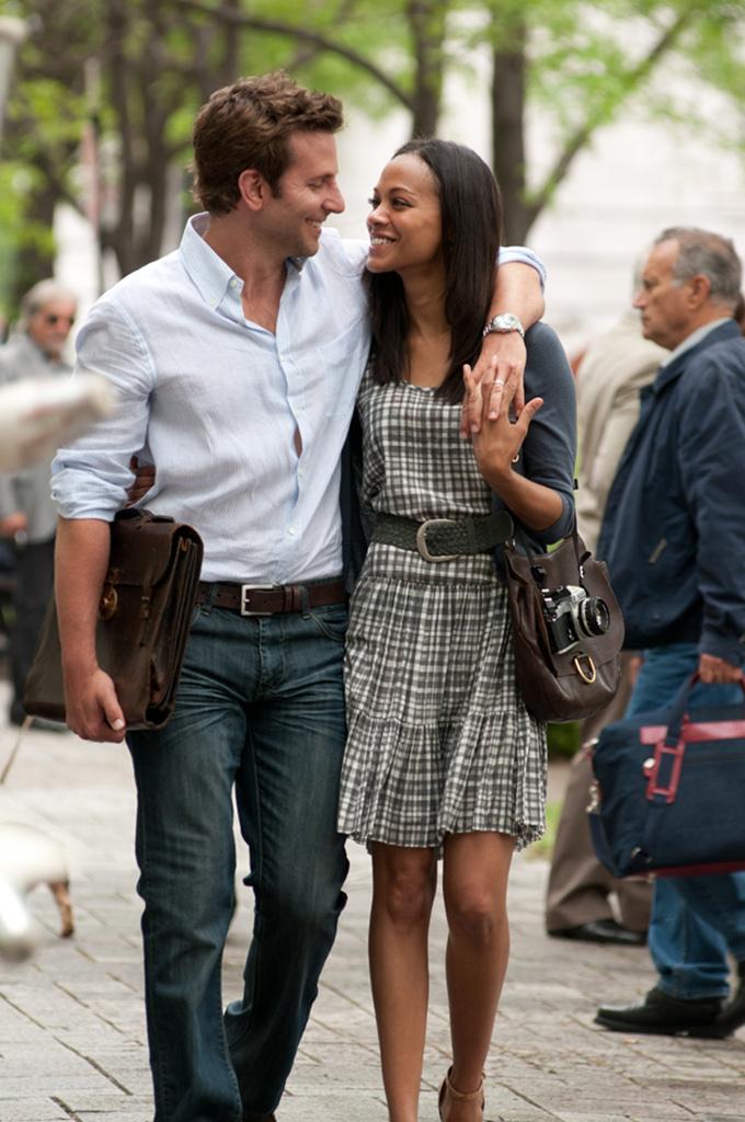 The Words Bradley Cooper Zoe Saldana skip crop