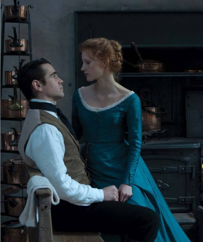 Miss Julie Jessica Chastain Colin Farrell