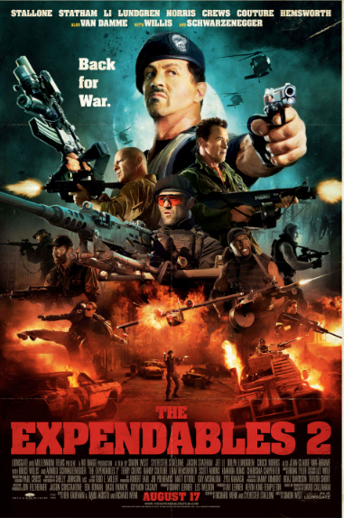 'The Expendables 2'