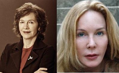 L-R: Louise Erdrich, Katherine Boo