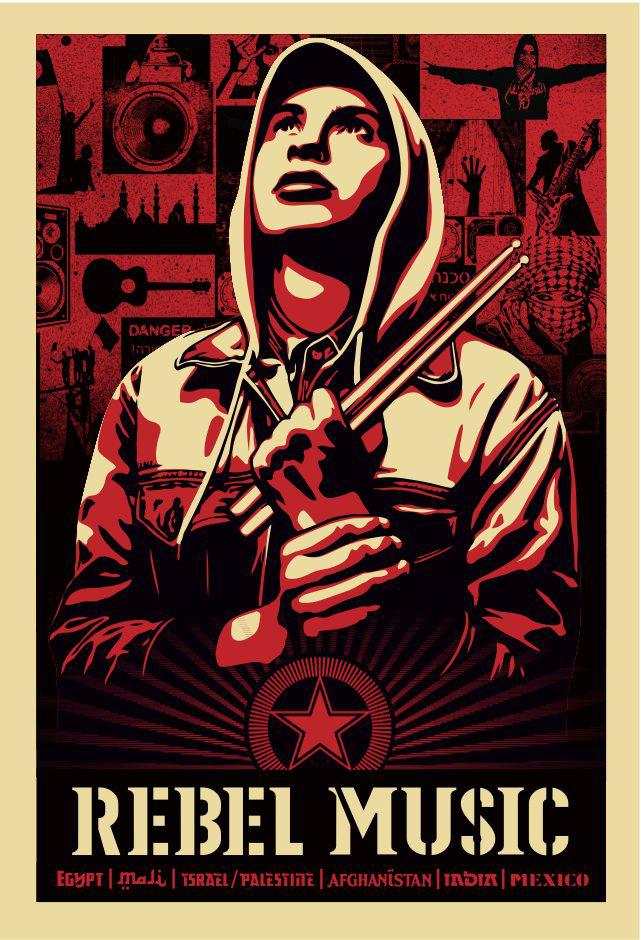 Rebel Music Poster