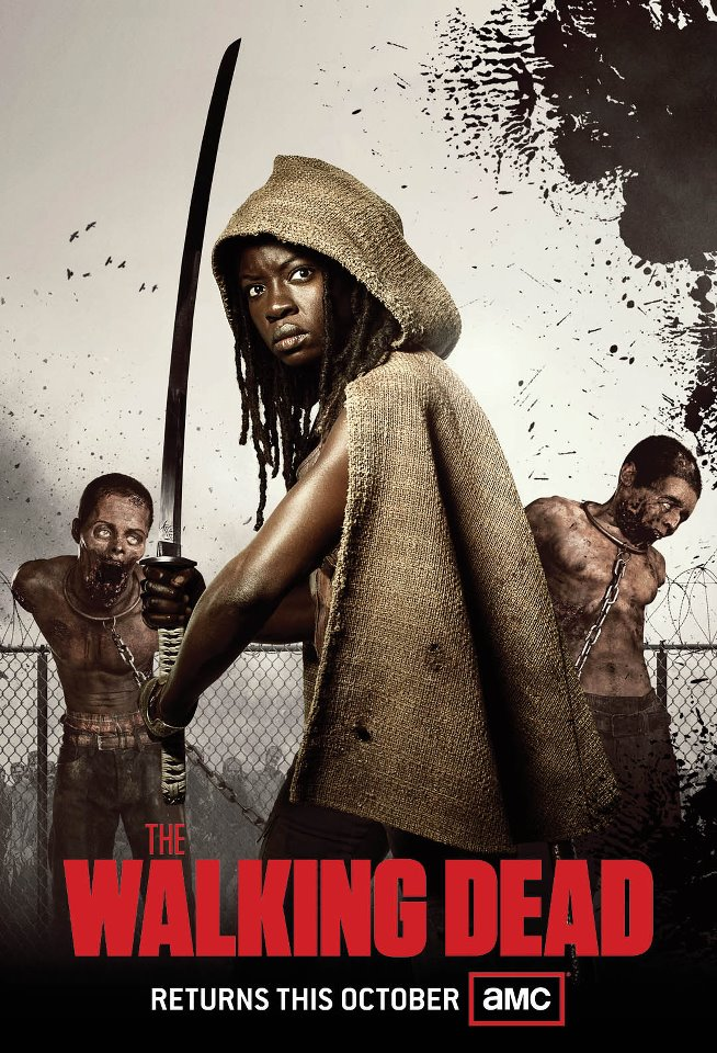 Danai Gurira in 'Walking Dead'