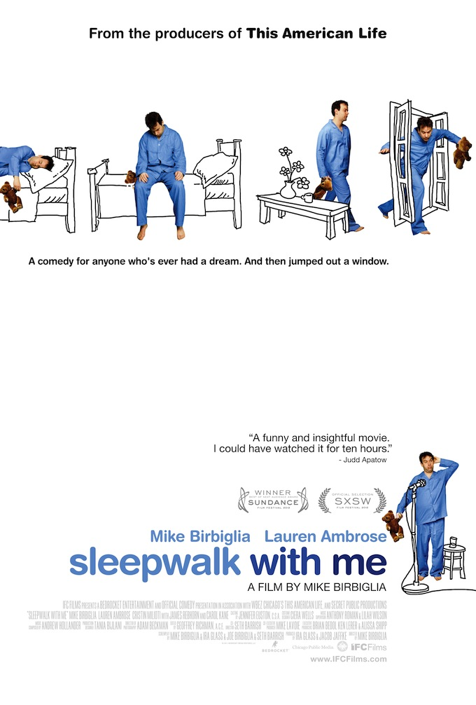 Sleepwalk with Me, full poster
