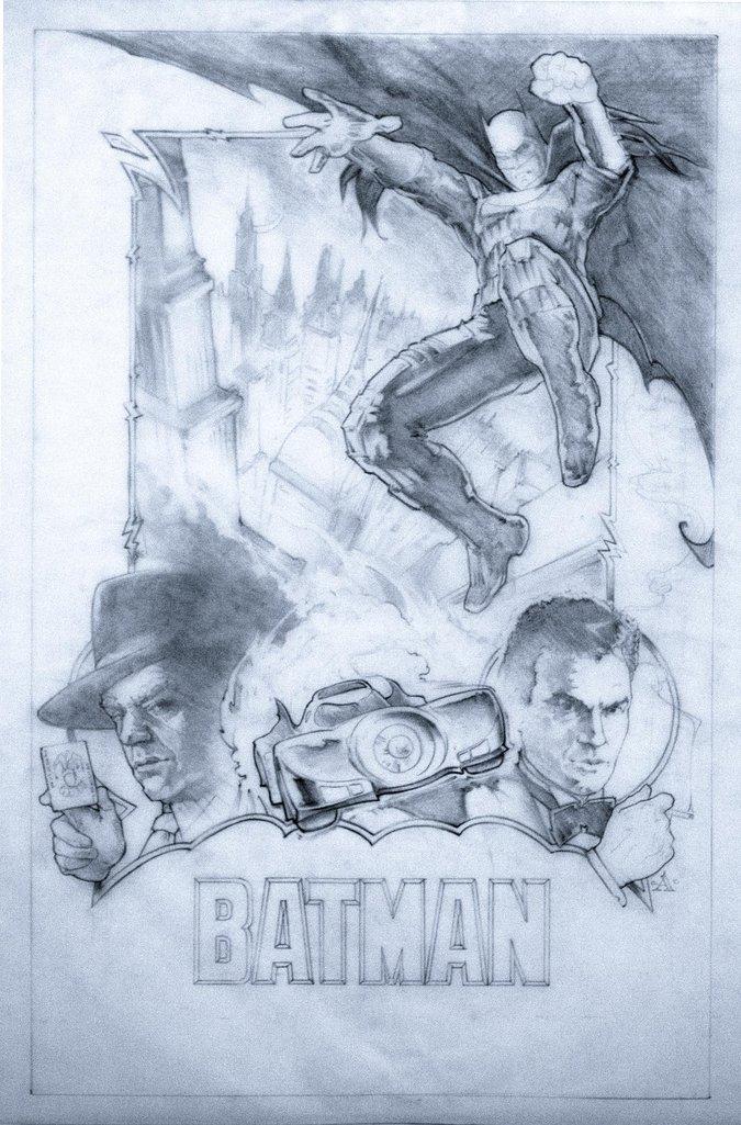 """Batman"" Artwork"
