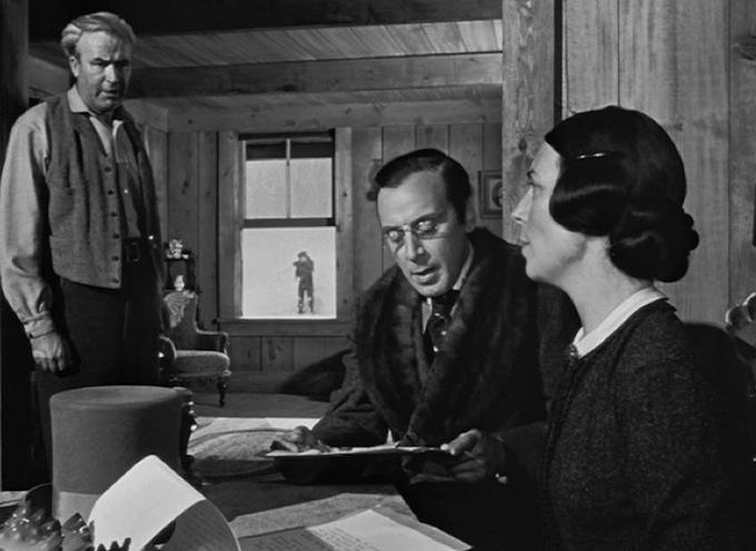 """""""Citizen Kane,"""" Orson Welles."""