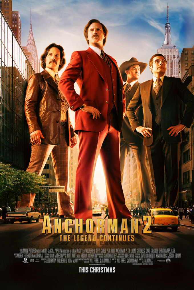 Anchorman 2, poster