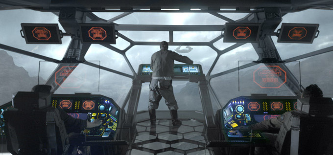 Prometheus Ship, Idris Elba skip crop