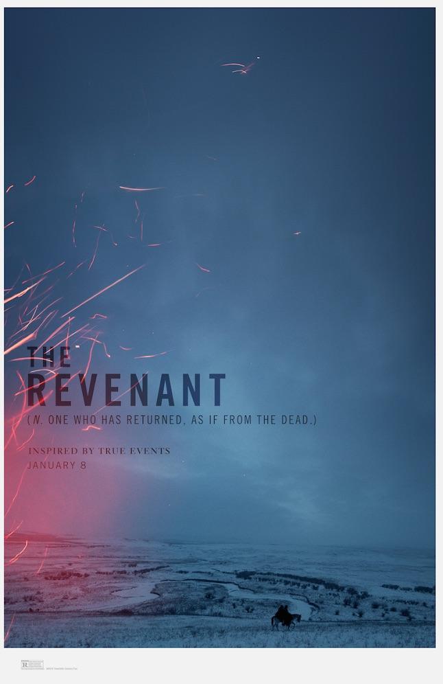 """""""The Revenant"""" US Teaser Poster"""