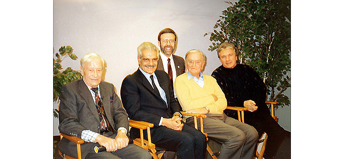 """Lawrence of Arabia"" reunion in 1989-2a"