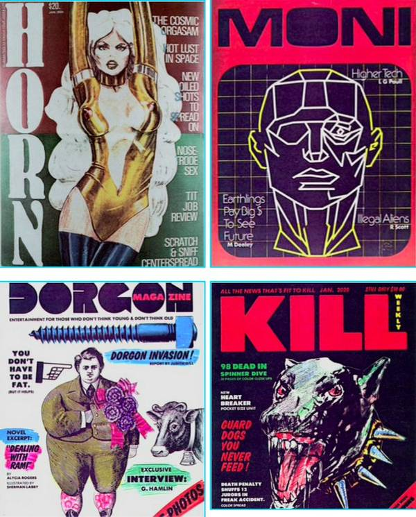 Blade Runner magazine covers