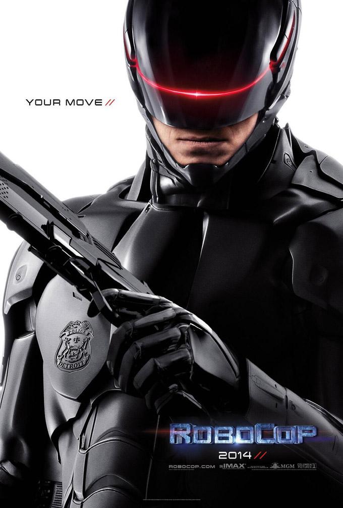 Robocop remake, poster