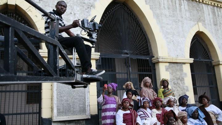 A Nollywood movie location.
