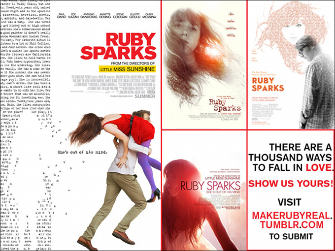 Ruby Sparks Design Contest Poster
