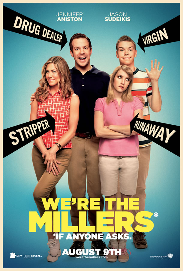 We're The Millers The Poster