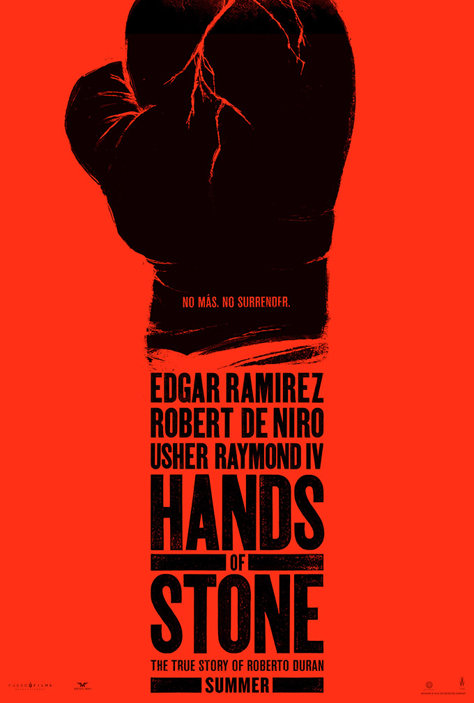 Hands Of Stone Poster