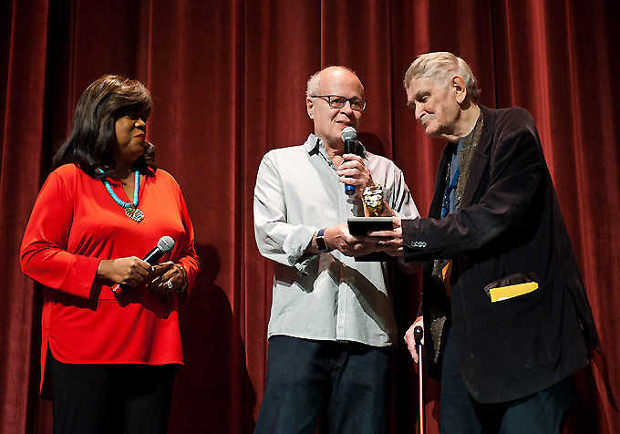 "Chaz Ebert-Nate Kohn-Paul Cox-""golden thumb"" award"