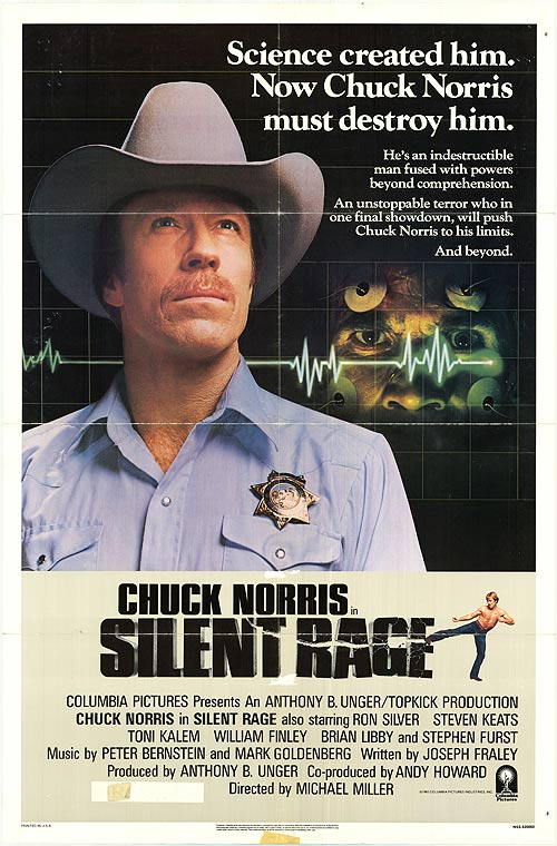 Silent Rage poster