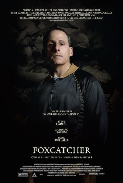 """Foxcatcher"" Poster #2 Steve Carell"