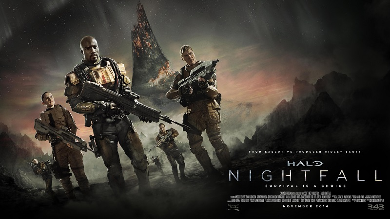 "Mike Colter stars in 'Halo: Nightfall"" as agent Jameson Locke"