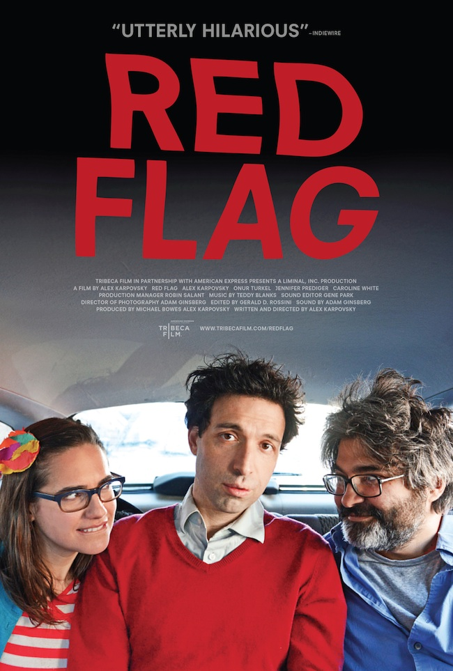 RED FLAG POSTER !