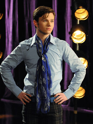 "Chris Colfer in ""Glee"""
