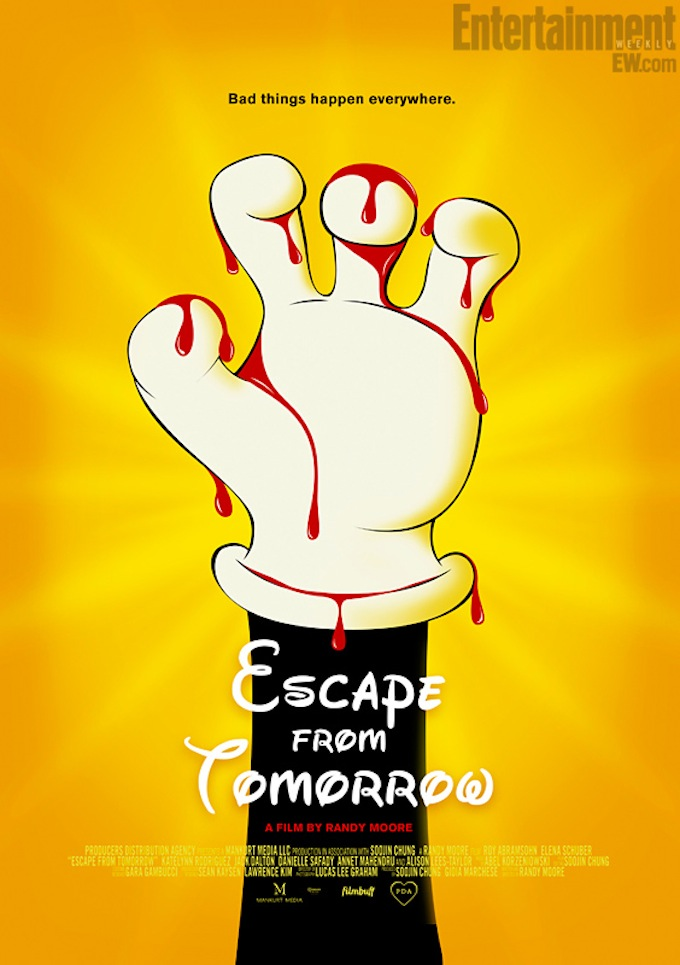 Escape From Tomorrow, poster