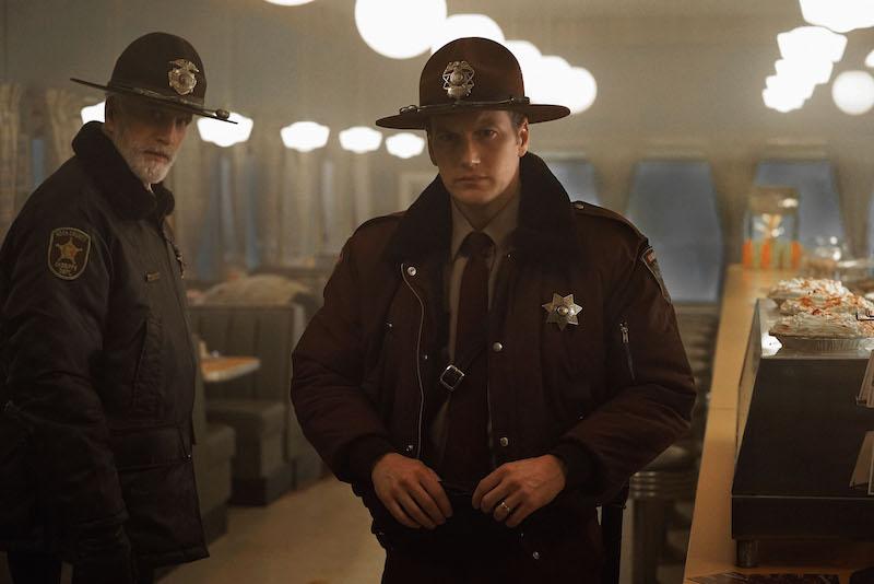 "Ted Danson and Patrick Wilson in ""Fargo"" Season 2"