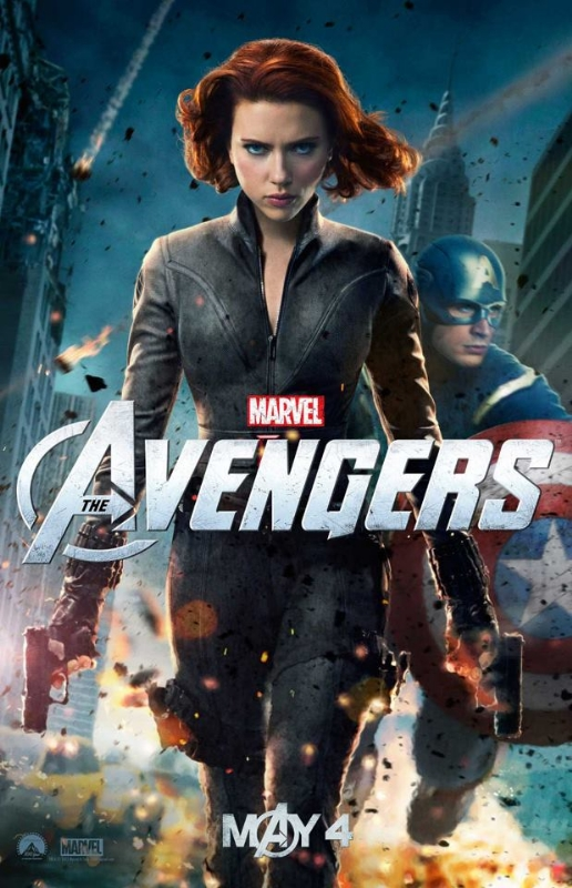 The Avengers Black Widow Poster