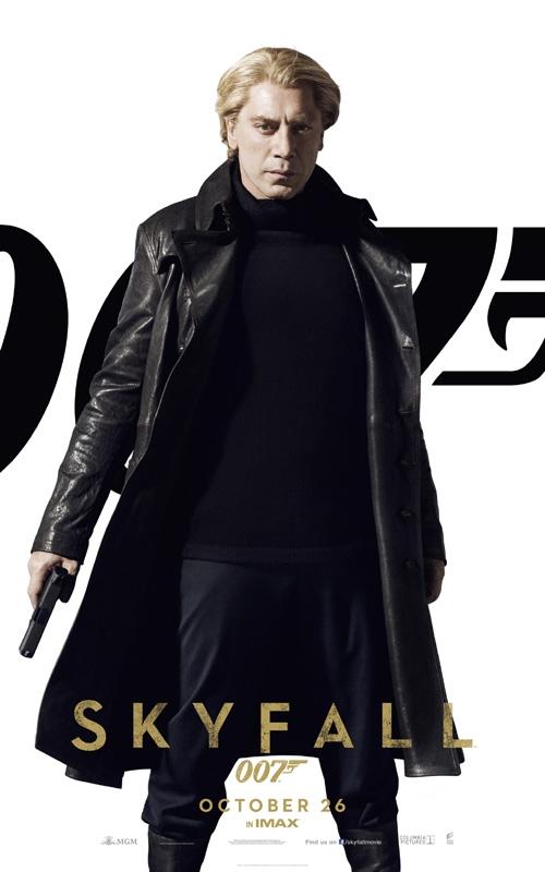 Skyfall Poster Javier Bardem