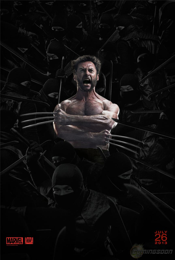 The Wolverine Ninja Poster skip crop